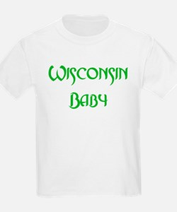 Wisconsin Baby (green) T-Shirt