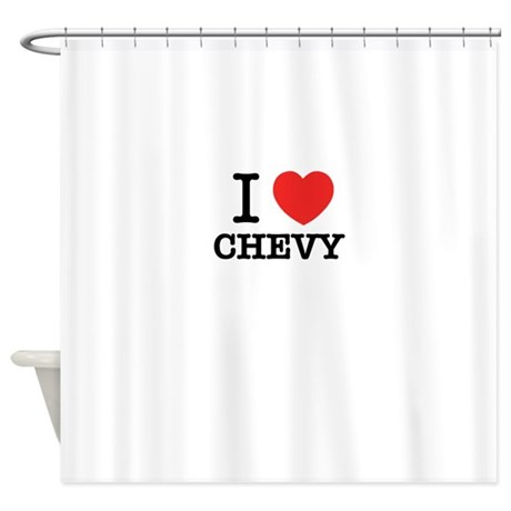 chevy shower curtains