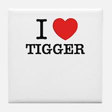 I Love TIGGER Tile Coaster