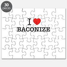 I Love BACONIZE Puzzle