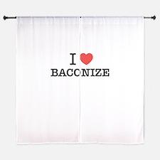 I Love BACONIZE Curtains