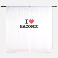 I Love BACONIC Curtains