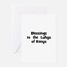 Blessings  to  the  Luhya of  Greeting Cards (Pk o