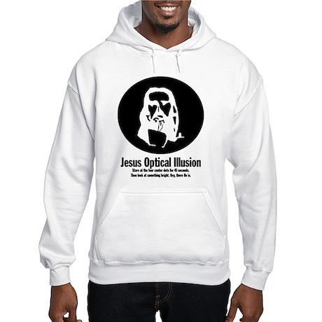 Jesus Optical Illusion | Hooded Sweatshirt