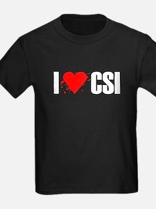 I love CSI T