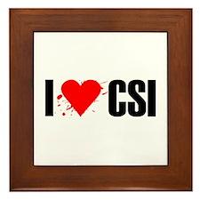 I love CSI Framed Tile