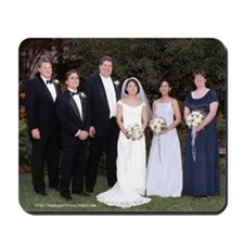 Wedding Group Mousepad