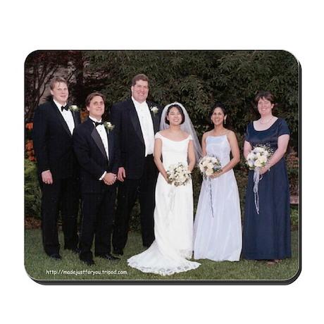 Wedding Group Mousepad