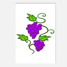 Grapes on a Vine Postcards (Package of 8)