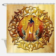 Anubis, ancient Egyptian god Shower Curtain