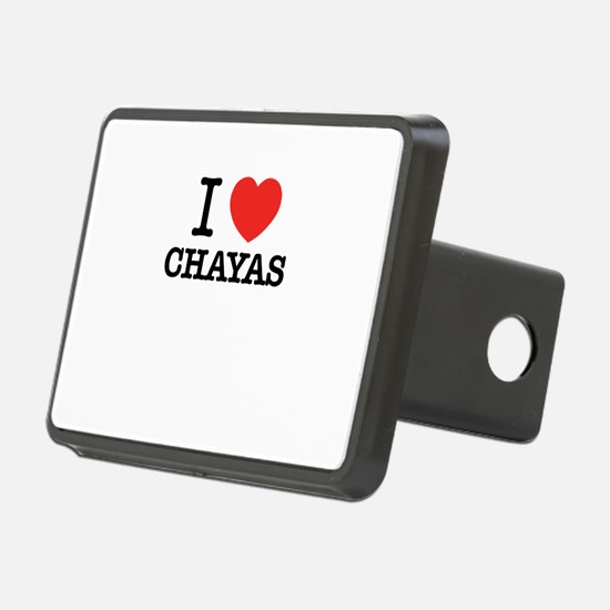 I Love CHAYAS Hitch Cover