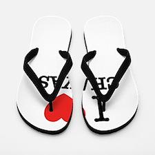 I Love CHAYAS Flip Flops