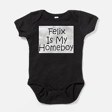 Unique Is my homeboy Baby Bodysuit
