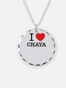 I Love CHAYA Necklace