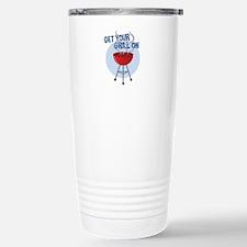 Get Grill On Travel Mug