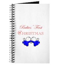 Twins First Christmas Journal