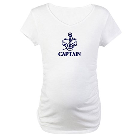 CAPTAIN Maternity T-Shirt