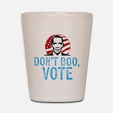 Don't Boo, Vote Shot Glass