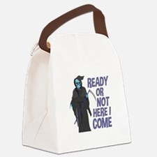 Ready Or Not Canvas Lunch Bag