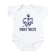 FIRST MATE Onesie