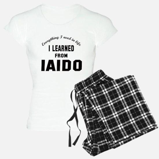 I learned from Iaido pajamas