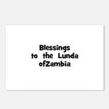 Blessings  to  the  Lunda ofZ Postcards (Package o