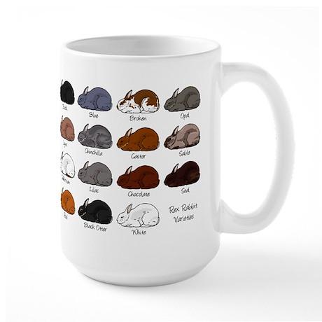 Rex Rabbit Large Mug