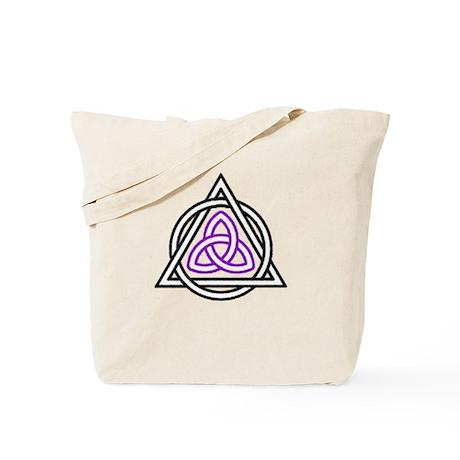 Triquetra shapes Tote Bag