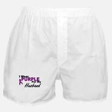 I Wear Purple For My Husband 3 (PC) Boxer Shorts