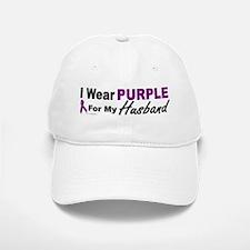 I Wear Purple For My Husband 3 (PC) Baseball Baseball Cap