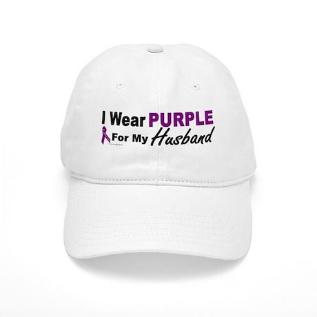 I Wear Purple For My Husband 3 (PC) Cap