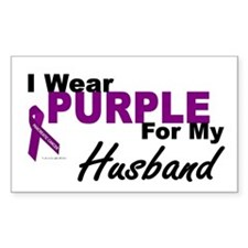 I Wear Purple For My Husband 3 (PC) Decal