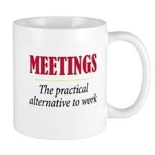 Meetings - Small Small Mug