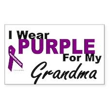 I Wear Purple For My Grandma 3 (PC) Decal