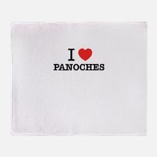 I Love PANOCHES Throw Blanket