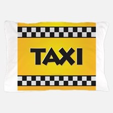 Taxi Pillow Case