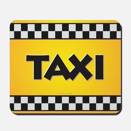 Taxi Mousepad