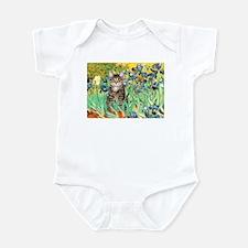 Irises / Tiger Cat Infant Bodysuit