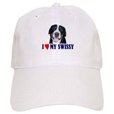 Cute Swiss mountain dog Baseball Cap