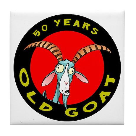 Old Goat 50 Tile Coaster
