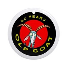 Old Goat 50 Ornament (Round)