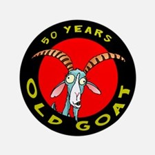 """Old Goat 50 3.5"""" Button"""