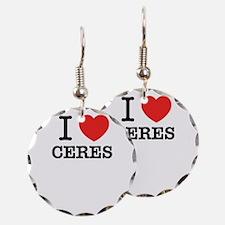I Love CERES Earring