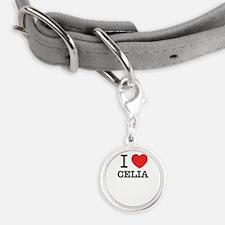 I Love CELIA Pet Tags
