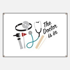 Doctor Is In Banner