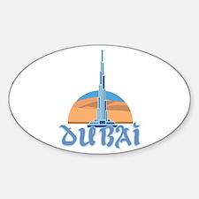 Burj Khalifa Dubai Decal