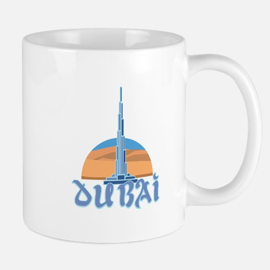 Burj Khalifa Dubai Mugs