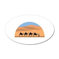 Camel Caravan Wall Decal