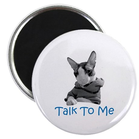 """Talk to Me 2.25"""" Magnet (100 pack)"""