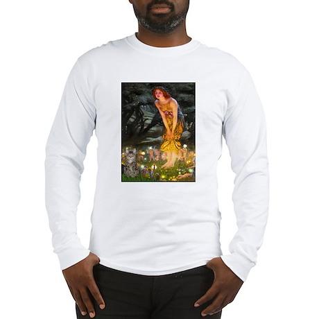 Midsummer/ Tiger Cat Long Sleeve T-Shirt